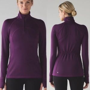 Lululemon First Mile 1/2 Zip Sweatshirt